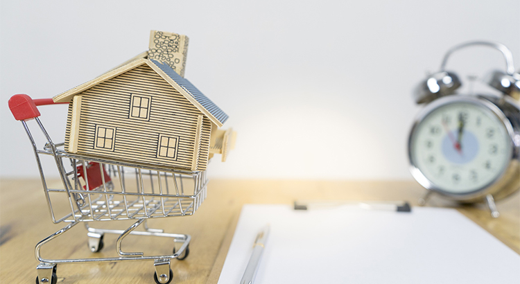 put your house in a shopping cart
